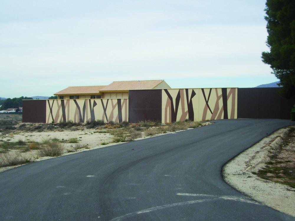 Parque construido en Elche de involucra