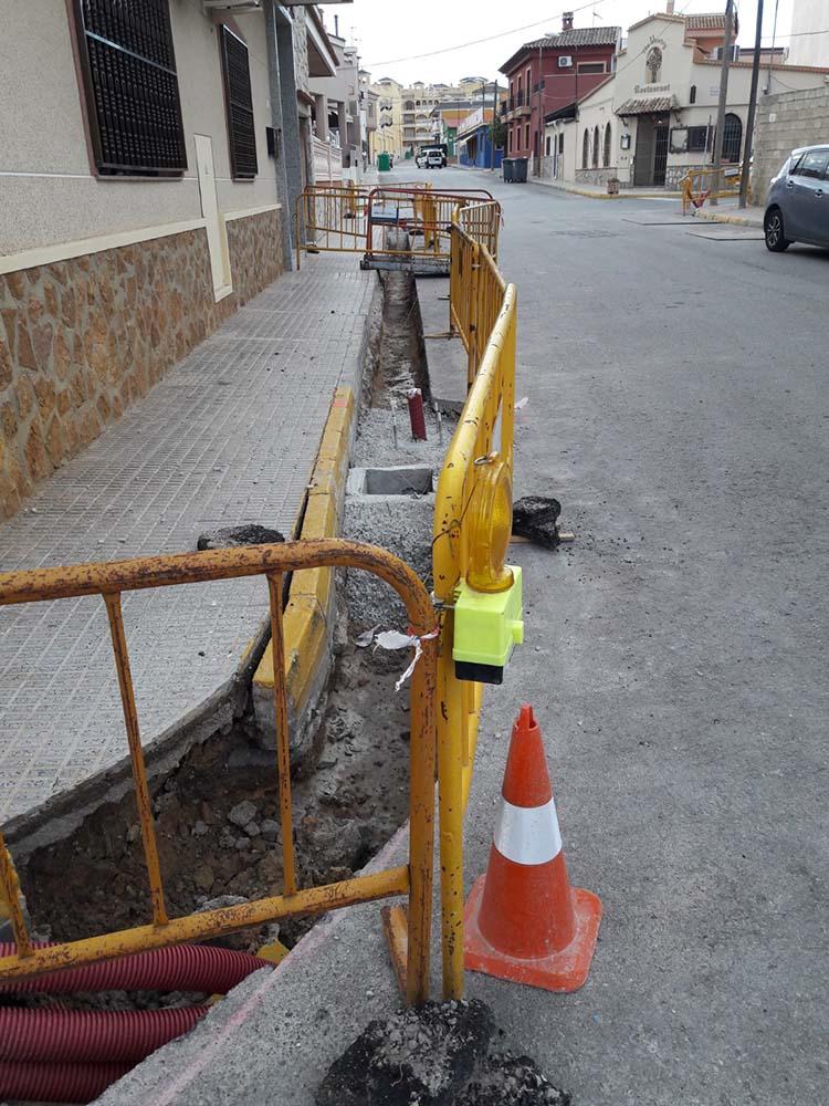 Reforma del alumbrado del casco urbano de Algorfa - Involucra S.L.