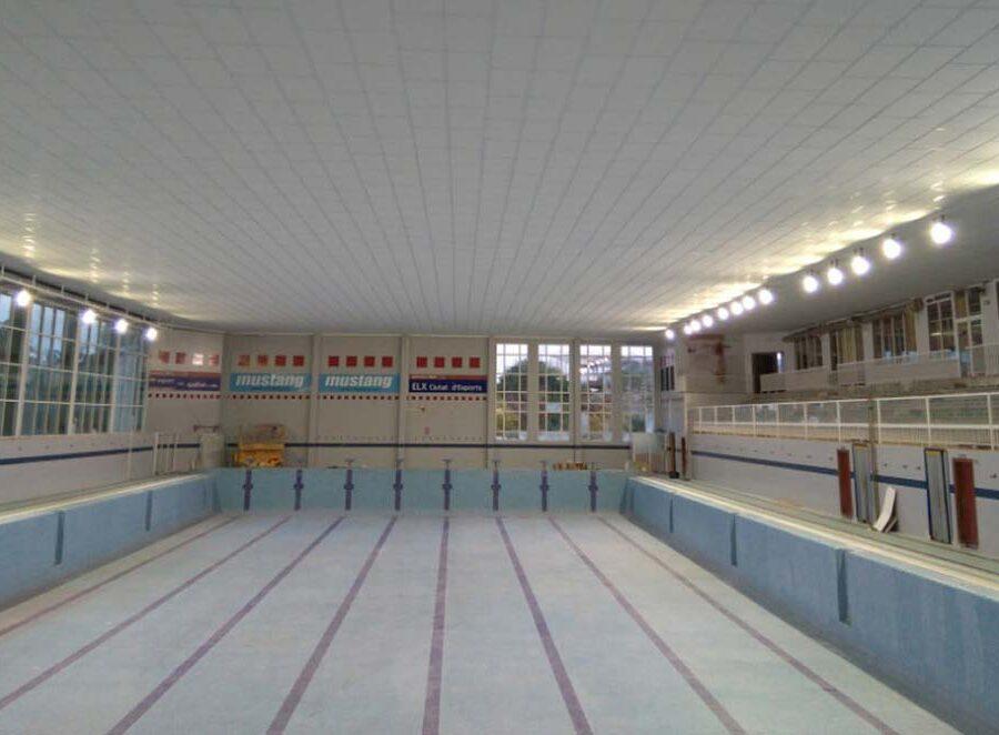 Reparación de la cubierta de la piscina del pabellón Esperanza Lag