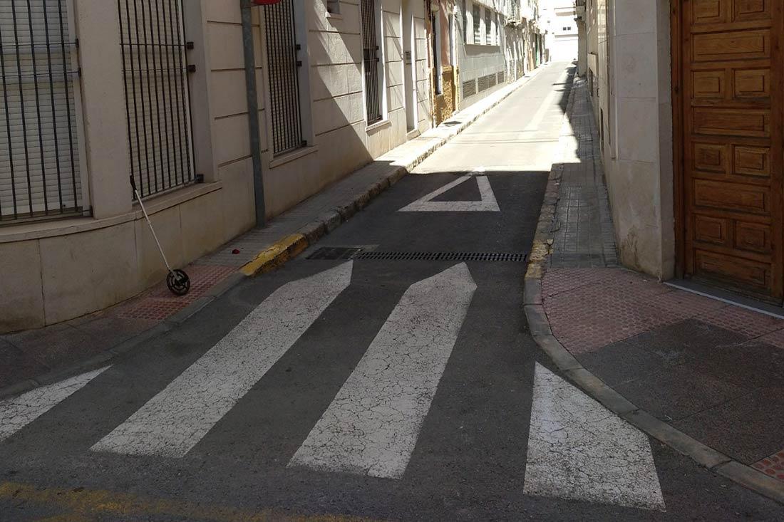 La Calle Aurora de Elche estará en obras por rehabilitación