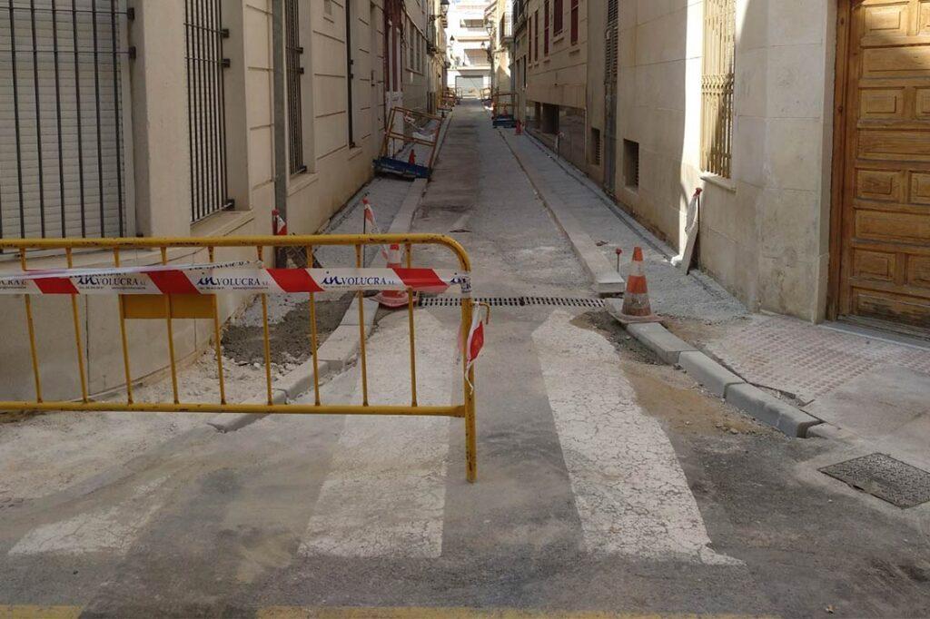 Comienzan las obras de rehabilitación de la Calle Aurora