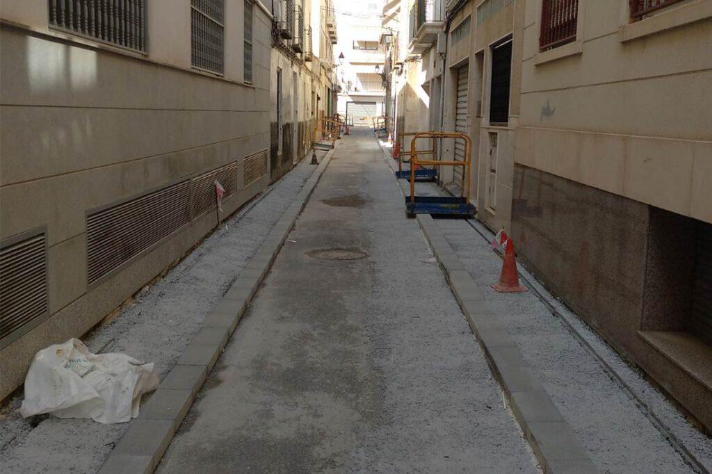 Reparación de la Calle Aurora