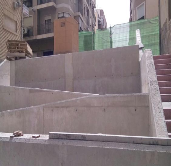 Comienza la rehabilitación de las zonas urbanas de la calle Mario Pastor