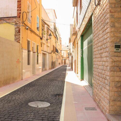 Finalización de las obras de rehabilitación de la Calle Aurora