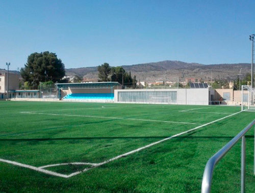 Campo deportivo del complejo de Climent