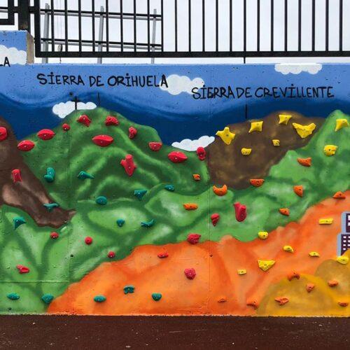 Reparación de las pistas deportivas del C.E.P. San José de Calasanz