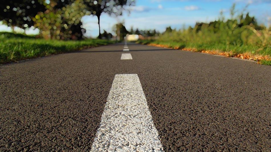 Fresado de pavimento en carreteras.