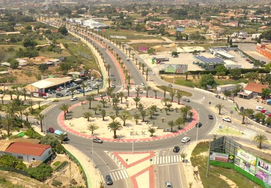 Modernización y mejora dela Avenida Bimil·lenari y Vía Parque