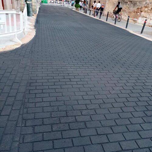 Peatonalización del centro histórico de Elche